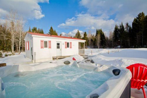 spa extérieur hiver